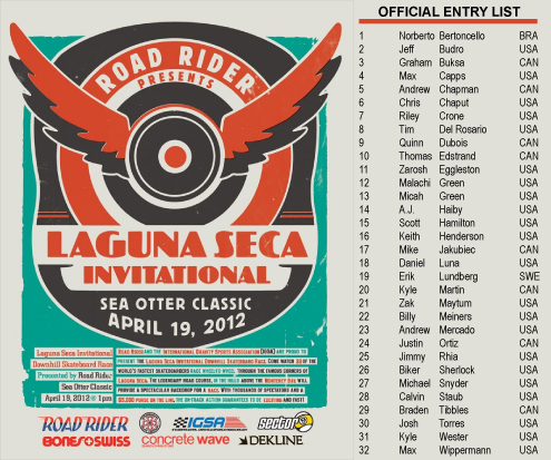 Laguna Entry List